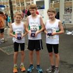 Kyle Jones, Josef Short and Ben McLaughlin, proud bronze medal winners