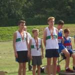 The U15 boys bronze medalists