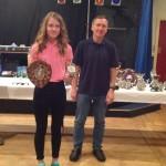 Eve Williams Winner U15 Girls 1st U15 Team