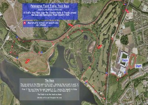 Pennington Flash 5 Mile Trail Race 2015