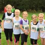 U11 girls Watson Barlow Galvin Renda Southwell